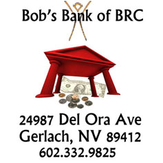 Bob's Bank of BRC  - April Fool's 2014