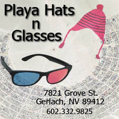 Playa Hats 'N Glasses - April Fool's - 2010